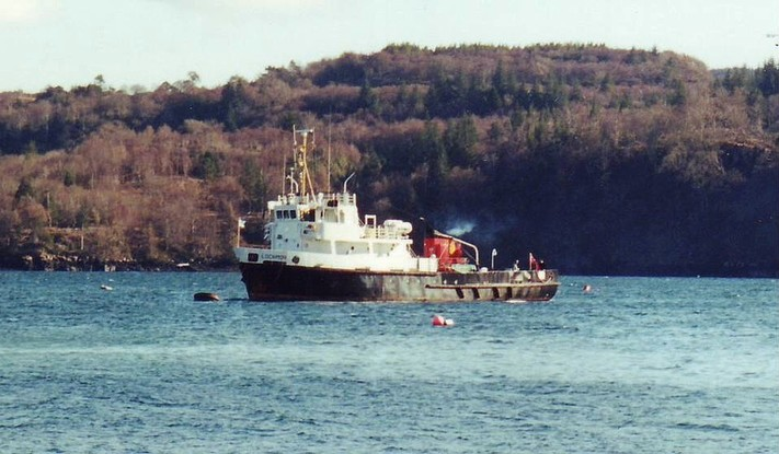 MV Lochmor At Tobermory Russ McLean G RSZ