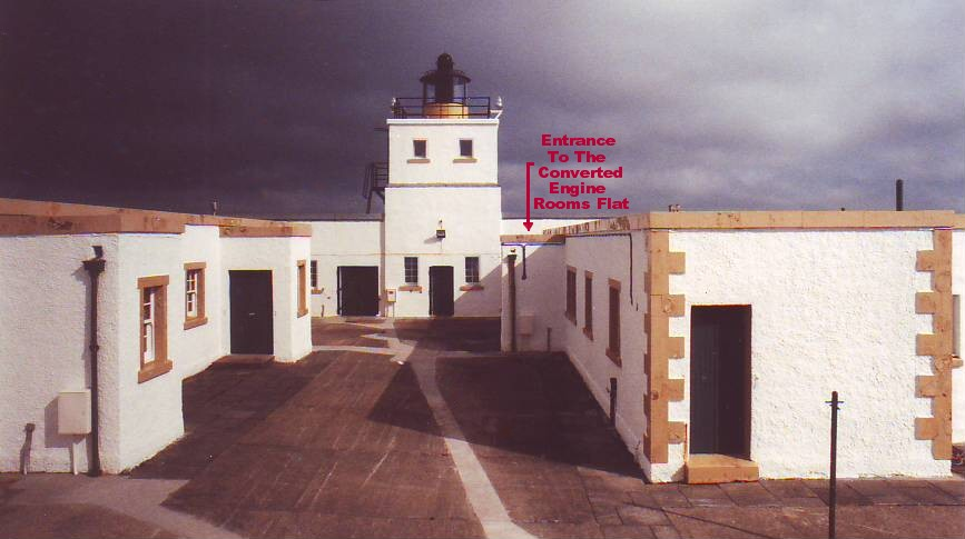 Strathy Engine Room Lighthouse Courtyard Entrance