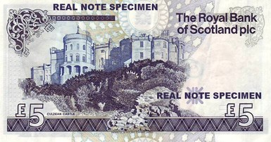 Castle Culzean Five Pounds RSZ