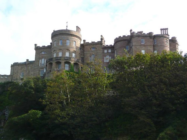 Castle Culzean Gordon Brown