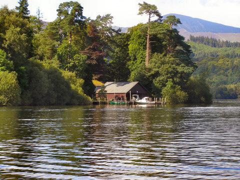 Derwent Island Boat House David Dixon RSZ