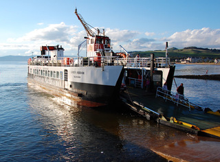 Ferry To The Island of Cumbrae Departing Largs Greg Morss