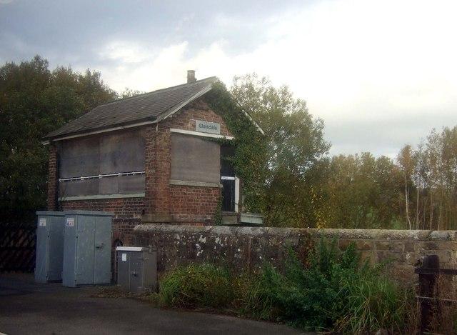 Glaisdale Railway Station Signal Box J Thomas