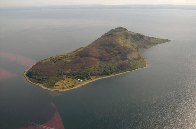 Holy Isle By Arran LJ Cunningham