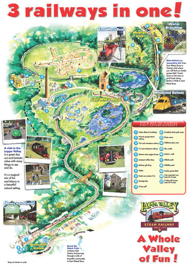 Lappa Valley Main Layout Poster RSZ