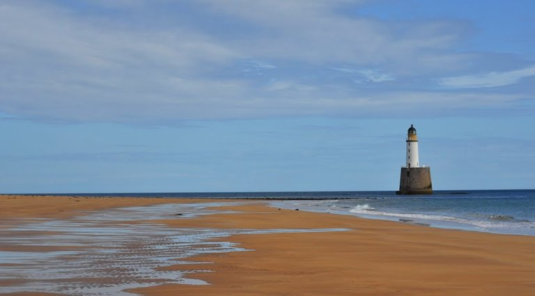 Lighthouse Keepers' Cottages, Rattray Head, Rattray, Peterhead, Aberdeenshire. AB42 3HA. MAIN