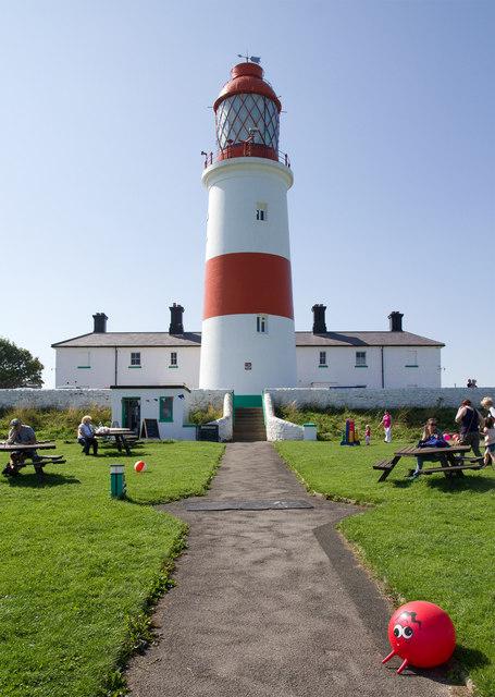 Lighthouse Souter David P Howard