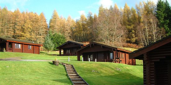 Log Cabins Summer Ardgarry Farm, Faichem, Invergarry, Inverness-shire, Scotland PH35 4HG