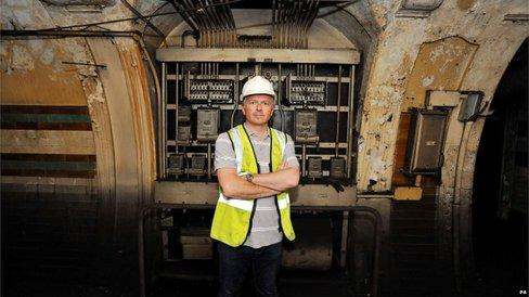 London Underground Brompton MAIN 4 RSZ Mr Chafer
