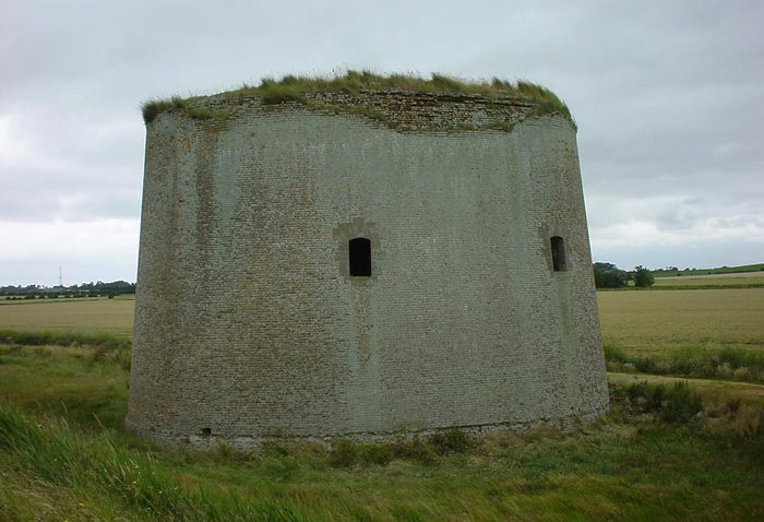 Martello Tower Y Before
