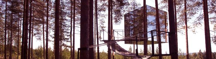 Mirror House 2 (c) Treehotel Brittas Pensionat