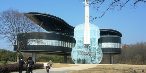 Piano House and Violin