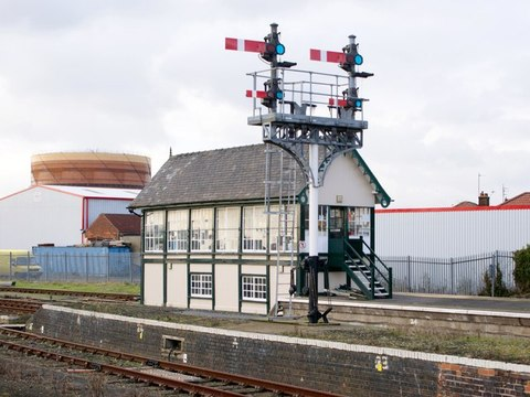 Signal Box Skegness Dave Hitchborne RSZ