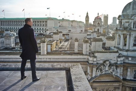 Skyfall James Bond Trinity Square Location EON Productions