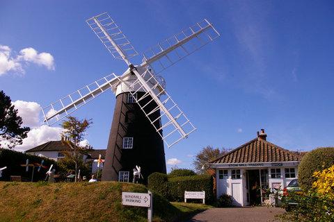 Stow Mill, Stow Hill, Paston, Norfolk, NR28 9TG. Christine Matthews