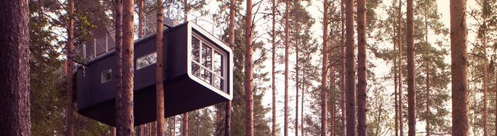 Treehouse Hotel Room Variety (c) Treehotel Brittas Pensionat