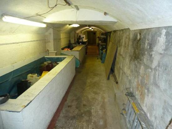 Tunnel Plymouth WW2 AA