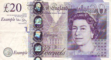 Twenty Pound Note Prize
