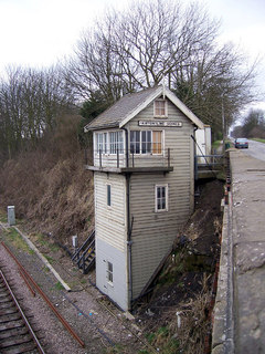 Signal Box Kirton Lime Sidings David Wright RSZ