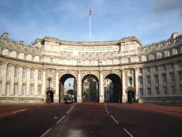 Admiralty Arch Photo Rod Allday