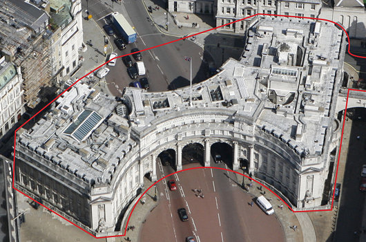 Admiralty Arch Photo Savills and Andrew Cusack