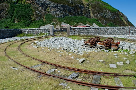 Ailsa Craig Ian Johnston Railway