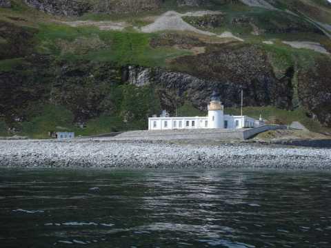 Ailsa Craig Lighthouses RSZ Stephen Clark