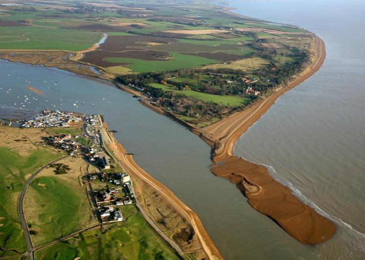 Bawdsey Manor, Bawdsey Quey, River Deben Across To Felixstowe Ferry