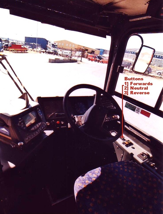 Bulletin Bus Driving Console UPB