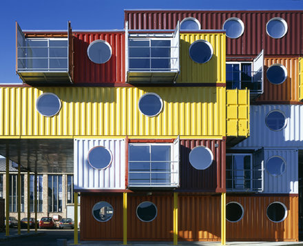 Container City - Arch Nicholas Lacey