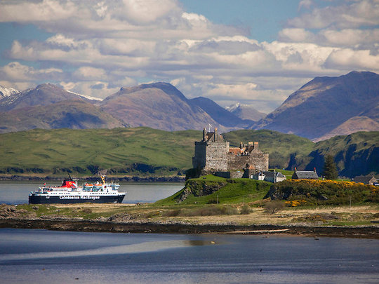 Duart Castle - Location Filming When Eight Bells Toll