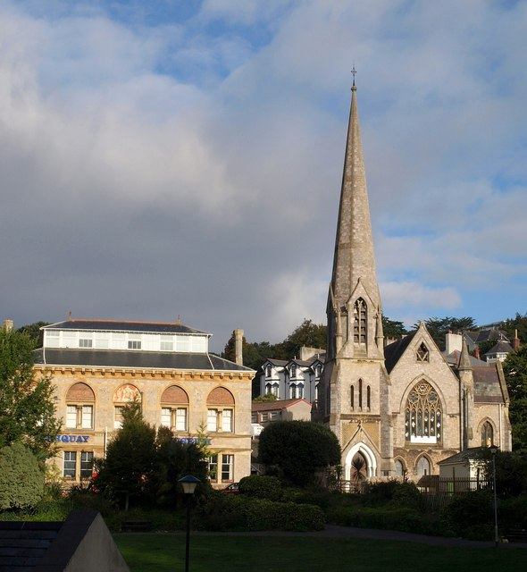 Former Church Of The Holy Trinity Torquay Derek Harper