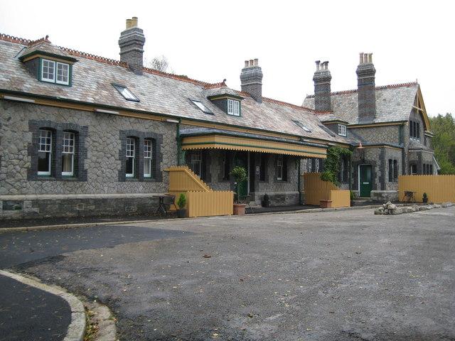Former Tavistock North Railway Station Photo By Nigel Cox
