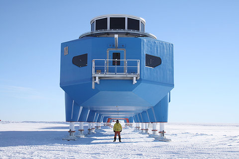 Halley VI Arctic Research Station Made Real