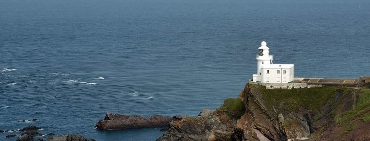 Hartland Point Lighthouse Tower & Keepers House For Sale - Photo Herb Riddle