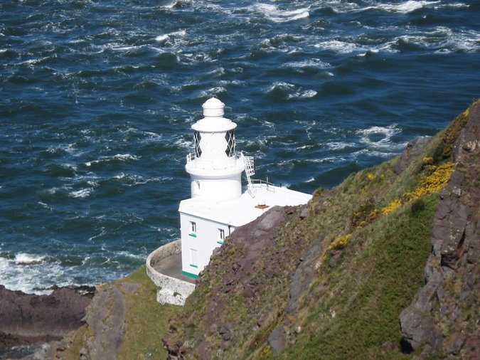 Hartland Point Lighthouse Tower & Keepers House For Sale - Photo Mark Jordan