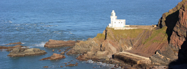 Hartland Point Lighthouse Tower & Keepers House For Sale - Photo Ruth Livingstone