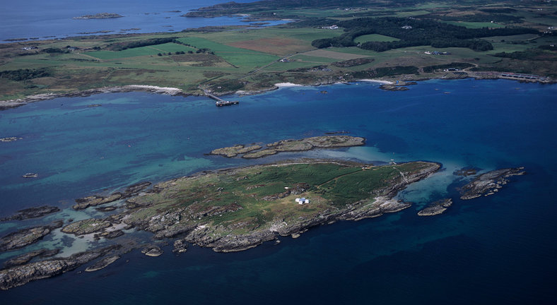 Island Of Gigalum, By Gigha, Argyll