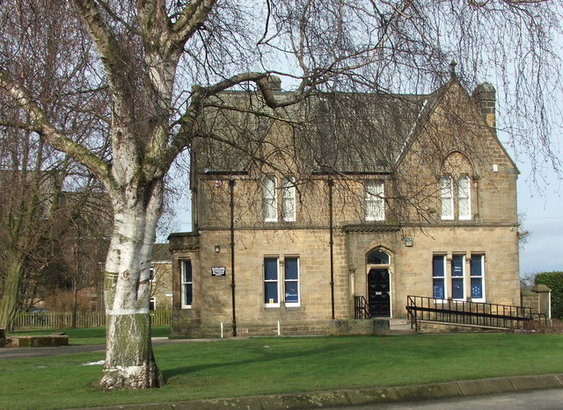 Library, The Old Vicarage, Bilton Lane, Harrogate, North Yorkshire, HG1 3DT Photo Peter Wilson