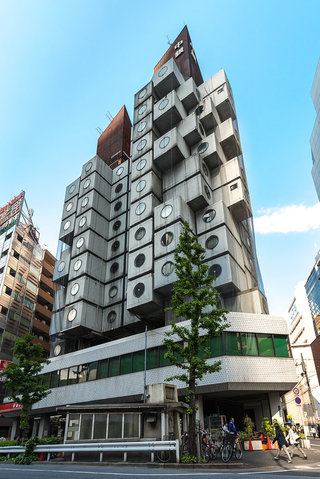 Nakagin Capsule Tower Photo By Jordy Meow