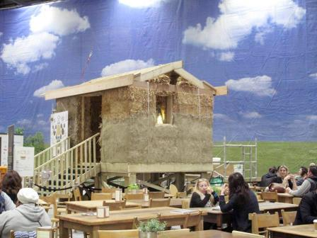 Part way built at Grand Designs Live!