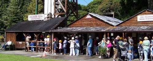 Poldark Tin Mine Visitors