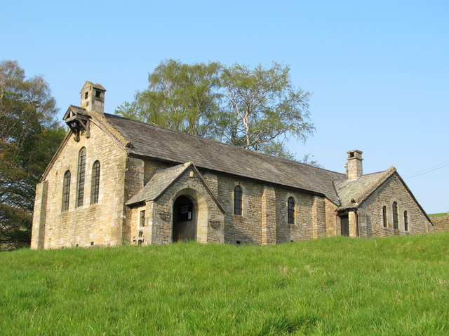 ST JOHN THE EVANGELIST CHURCH AND GLEBE FIELDS, ROOKHOPE, WEARDALE, COUNTY DURHAM Mike Quinn