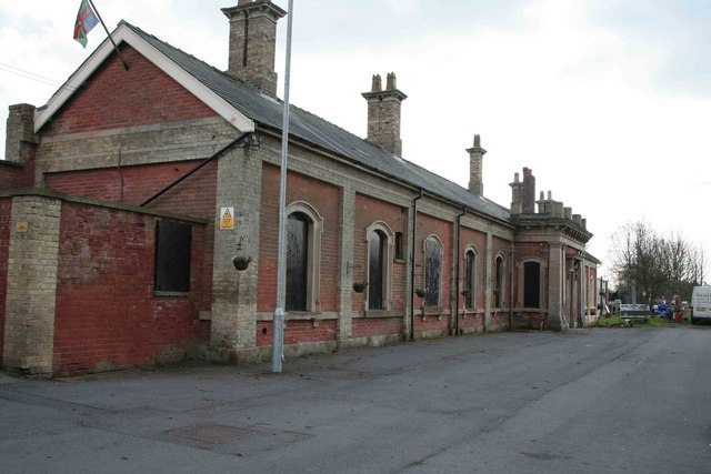 Station Buildings Market Rasen Roger Geach