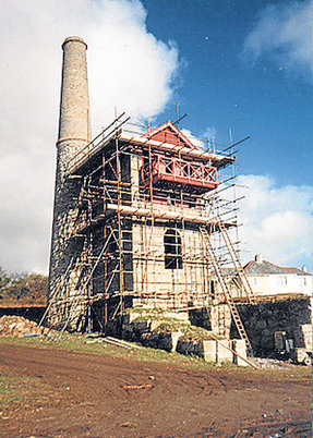 The Old Engine House, Wheal Rose, Scorrier, Cornwall 2