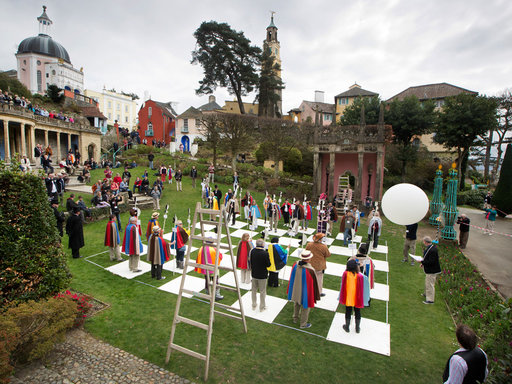 Annual fans' convention for The Prisoner TV series in Portmeirion