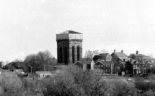 The Water Tower, Tower Hill, Ormskirk, Lancashire, L39 2EE Photo Chris Denny