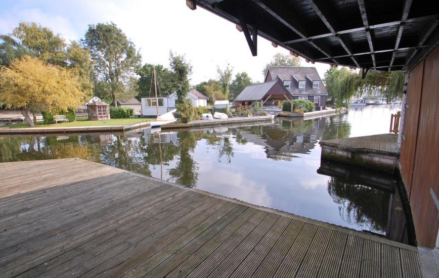 Treehouse Boathouse, Ropes Hill Dyke, Horning, Norwich NR12 8JS View