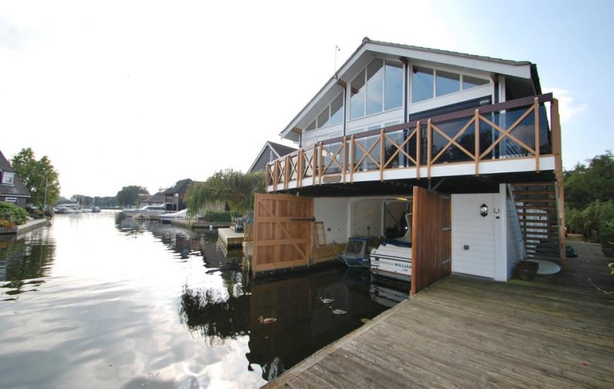 Treehouse Boathouse, Ropes Hill Dyke, Horning, Norwich NR12 8JS