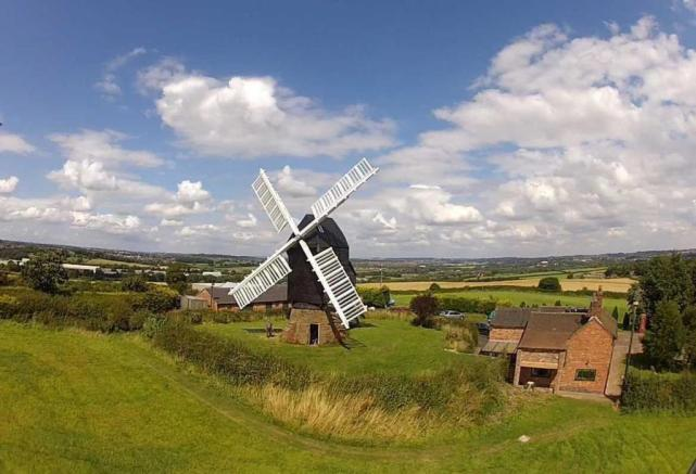 Windmill Farm & Windmill, Cat & Fiddle Lane, West Hallam